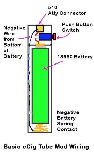 Basic Ecig Tube Mod Flashlight Wiring Diagram