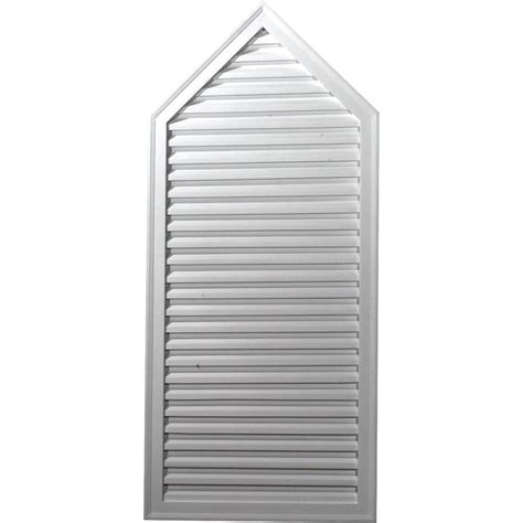 decorative gable vents products ekena millwork gable vents peaked gable vent