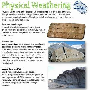 Physical Weathering Station | ESSL Lessons