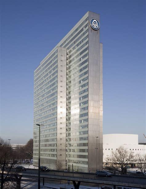Moderne Häuser In Düsseldorf by Dreischeibenhaus D 252 Sseldorf Helmut Hentrich Hubert