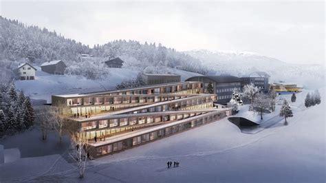 Home Decor Group 18 : 屋根でスキーできるスイスのホテル、構造がすごい