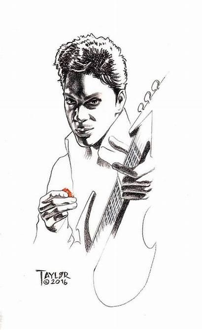 Prince Comic Drawings Artist Kevin Taylor Pencil