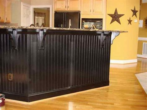 black beadboard wainscoting bar house idears painted