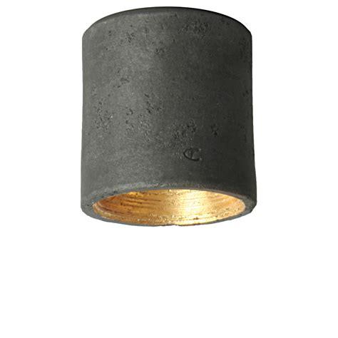 Moderner Zylinderförmiger Aufputzdeckenspot Aus Keramik