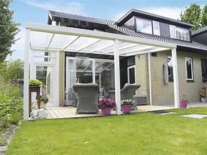 Terrassen berdachungen aus holz und aluminium senco for Günstige terrassenüberdachungen