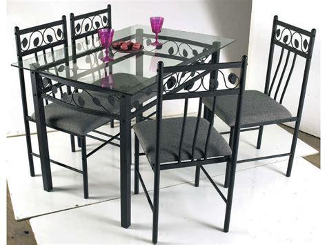 chaises fer forgé conforama table en verre fer forge et chaises sedgu com