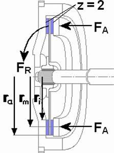 Kupplung Berechnen Formeln : der zusammenhang zwischen bertragbarer kraft und reibungskraft ~ Themetempest.com Abrechnung