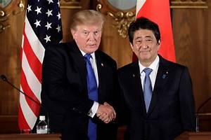 Did Trump miss Japanese PM Shinzo Abe falling into a ...