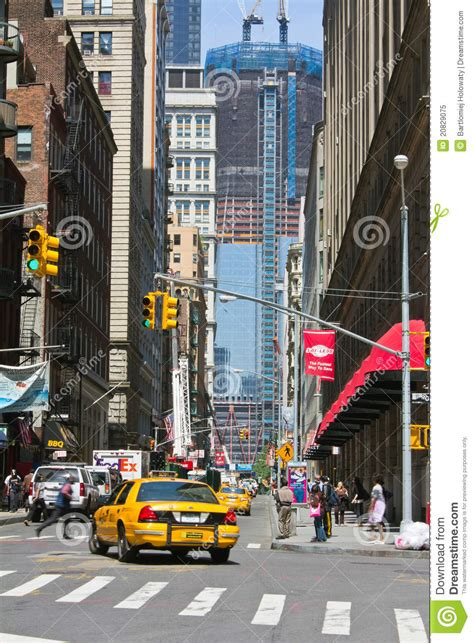 york city street   background wtc editorial image
