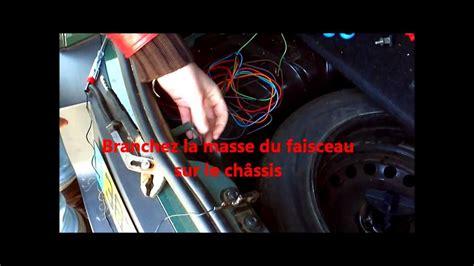 branchement faisceau attelage berlingo 3 montage du faisceau d attelage voiture et relais matic v7 wmv