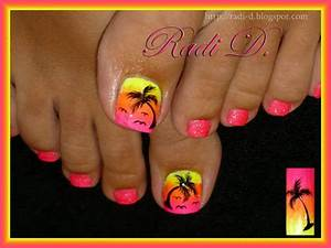 It`s all about nails: My summer toes