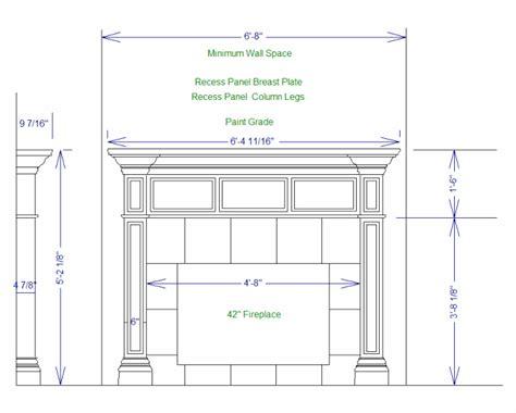 fireplace surround plans pdf plans plans for building fireplace mantle