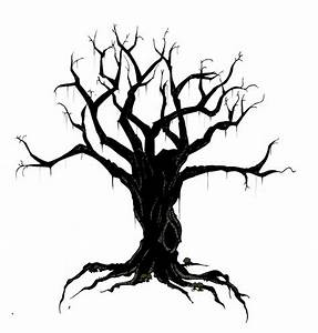 creepy bird in tree silhouette | Creepy Tree | ravens ...