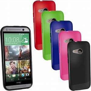 iGadgitz Glossy TPU Gel Case Cover for HTC One MINI 2 2014 ...