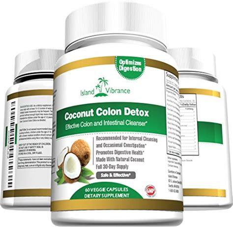 coconut colon detox supplement super formula  cleanse