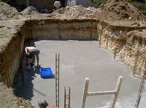 apres le coulage du radier piscineorg communaute en With construire sa piscine parpaings