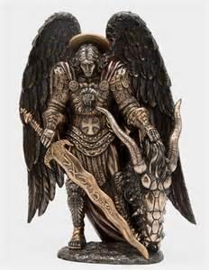 St. Michael the Archangel Statue Tattoos