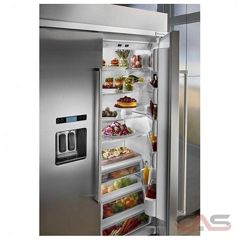 kbsdess kitchenaid refrigerator canada  price reviews  specs toronto ottawa