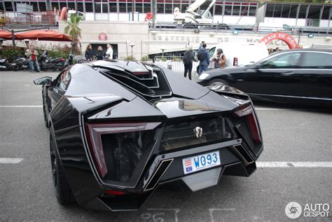 Wmotors Lykan Hypersport  21 April 2014 Autogespot