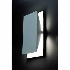 Appliques Murales Noires : applique murale blanche luminaire design faro ~ Edinachiropracticcenter.com Idées de Décoration
