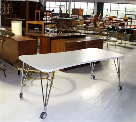 medium kartel max dining or conference table on wheels for