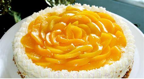 Küchen De Durazno Con Crema Pastelera