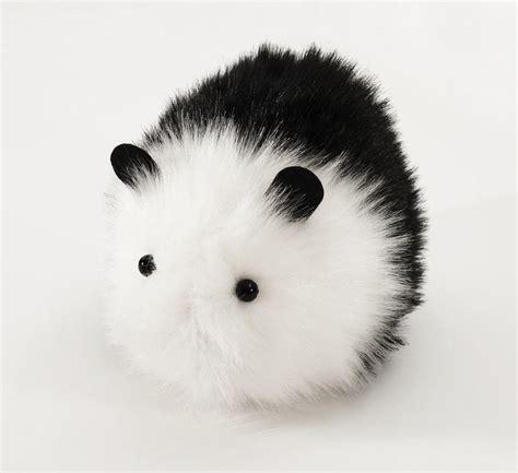 panda  black  white guinea pig stuffed animal plush