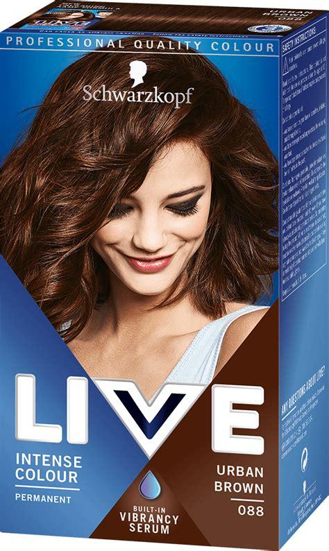 Hair Dyes For Brown Hair by 088 Brown Hair Dye By Live Live Colour Hair Dye