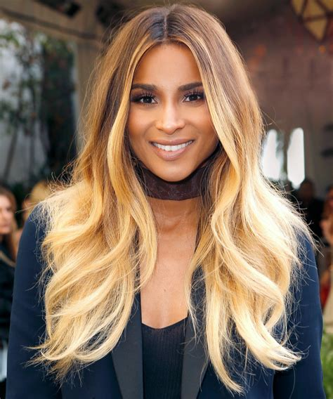 Ciara New Hairstyle by Ciara Side Swept Bangs Instyle