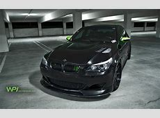 Black cars parking vehicles tuning wheels BMW M5 sports