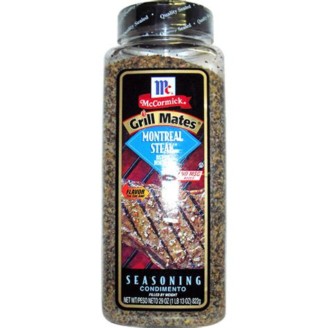steak seasoning mccormick grill mates montreal steak seasoning value size 29 oz day of health 112