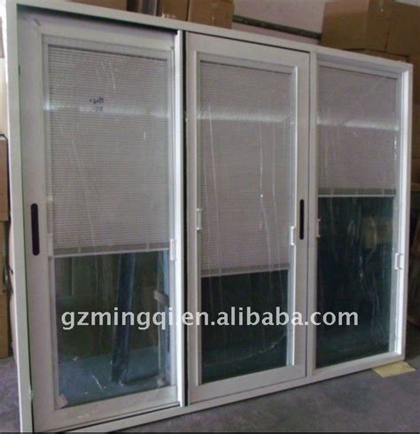 Sliding Door With Blinds by Aluminium Sliding Glass Door With Blinds Buy Sliding