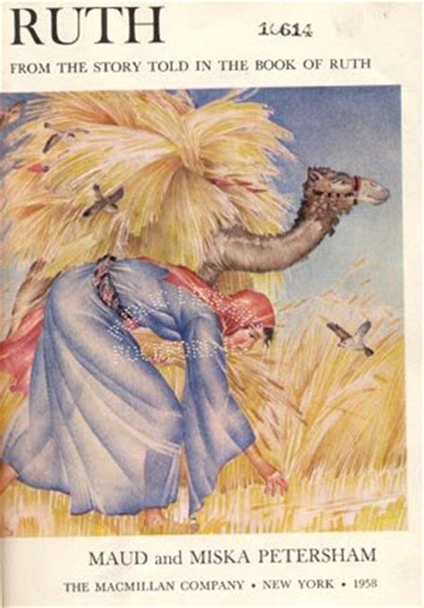 ruth children kid bible story naomi moab boaz maud miska