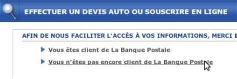 banque postale assurance auto devis assurance auto la banque postale lbp assurances iard