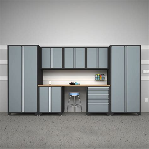 newage products 31637 pro series 8 piece cabinetry set