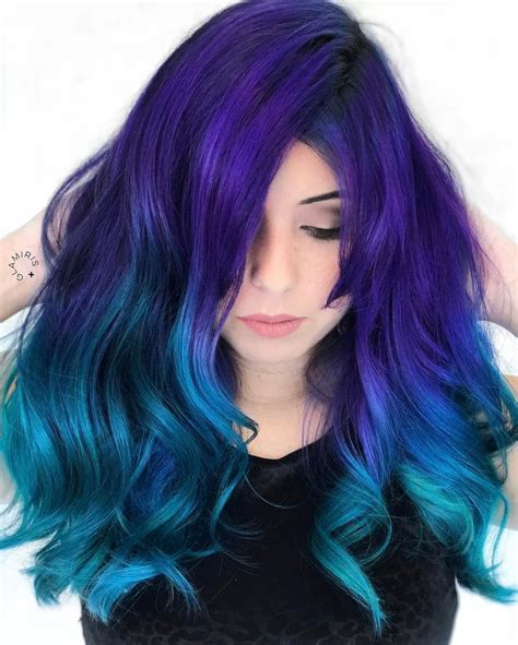 17 Best Ideas About Blue Ombre Hair On Pinterest Ombre