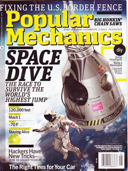 Mechanics Popular Magazine Science August Stratos Bull