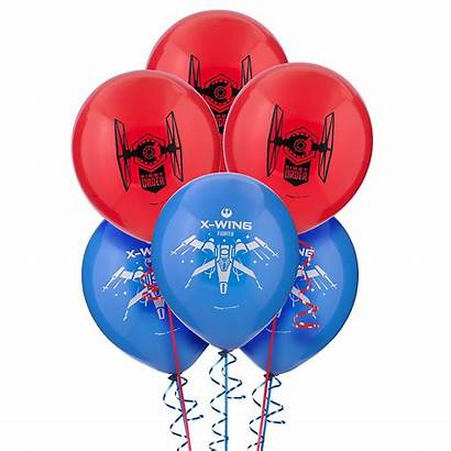 Wars Star Balloons Balloon Force Awakens Jedi