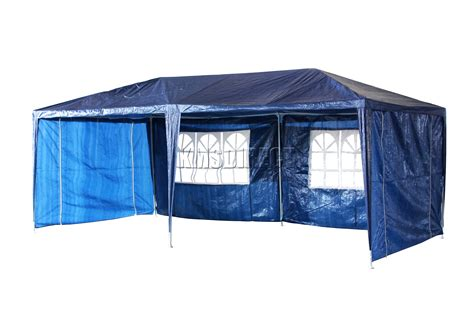 marques canap 3m x 6m 120g waterproof outdoor pe garden gazebo marquee