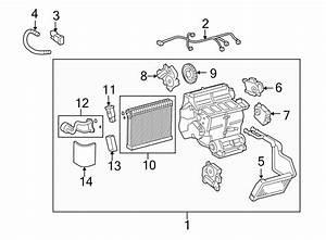 2011 Lexus Is350 Hvac Air Adjustment Control Motor  Mode  Upper