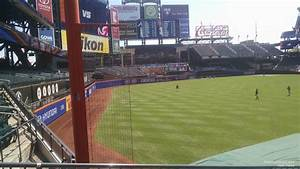 Citi Field Seating Chart With Row Numbers Citi Field Section 131 Rateyourseats Com