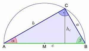 Mittelpunkt Kreis Berechnen : rechtwinkliges dreieck wikipedia ~ Themetempest.com Abrechnung