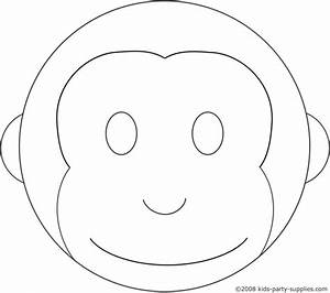 monkey cake template lboogie pinterest With curious george cake template
