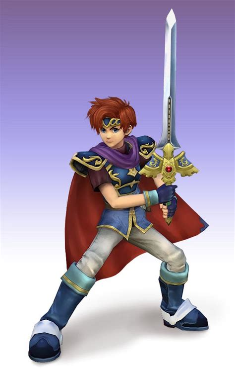roy emblem fire smash bros melee characters super google project render anime cute brawl brothers character