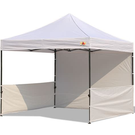 pop up canopy abccanopy 10x10 deluxe white pop up canopy trade show both