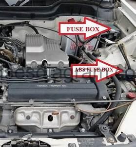 Fuse Box Honda Cr