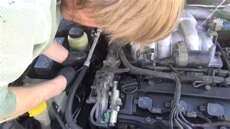maxima passenger side motor mount replacement youtube