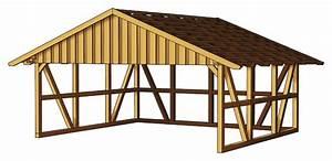 Welches Material Für Carport Dach : holz carport skanholz schwarzwald fachwerk doppelcarport vom garagen fachh ndler ~ Sanjose-hotels-ca.com Haus und Dekorationen