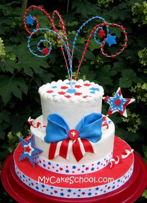 4th july cakes cake wrecks home sunday sweets a salute to all nations but really just america