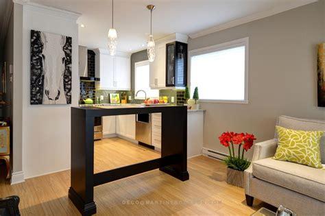 cuisine salon aire ouverte déco d 39 une aire ouverte tout en élégance martine bourdon